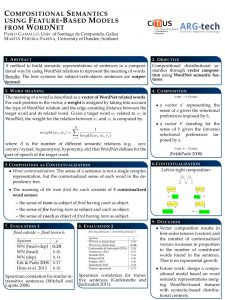 """The poster for """"Compositional semantics"""""""